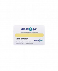 Powermesh Mesh and Go Card