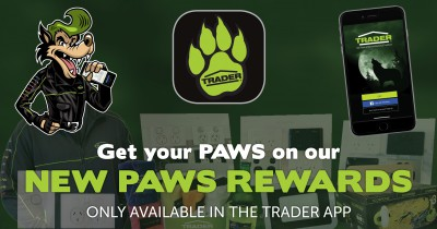 Get your PAWS on your NEW PAWS REWARDS!