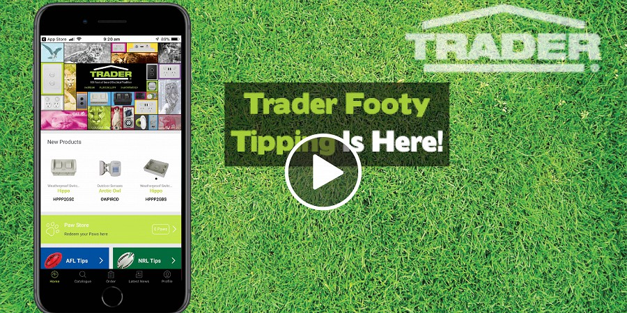 Trader Footy Tipping Is Here!